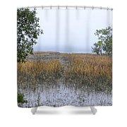 Pluff Mud Aroma Shower Curtain