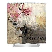 Plumeria - 064073079m3 Shower Curtain