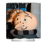 Plush Gru Shower Curtain