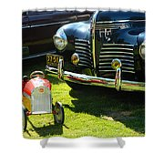 Plymouth And Baghera Shower Curtain