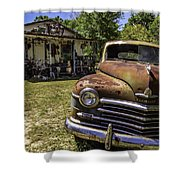Plymouth Corner Shower Curtain