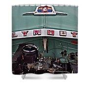 Plymouth Hood Shower Curtain