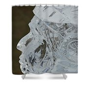 Plymouth Ice Festival Shower Curtain