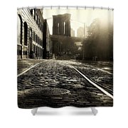 Plymouth Street Shower Curtain