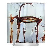 Pocket Of Time Shower Curtain by Fran Riley