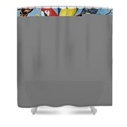 Pocket Pets Shower Curtain