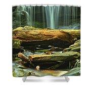 Poconos Cascades Shower Curtain
