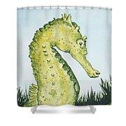 Pod Seahorse Shower Curtain