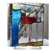 Poet Windowsill Box - Other View Shower Curtain
