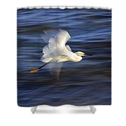 Poetry In Motion, Malibu California Shower Curtain
