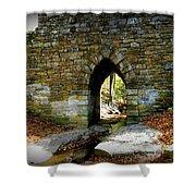 Poinsett Bridge Arch Shower Curtain