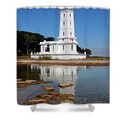 Point Abino Reflections Shower Curtain
