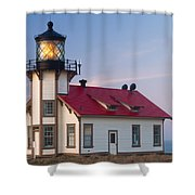Point Cabrillo Lighthouse Shower Curtain