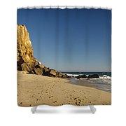Point Dume At Zuma Beach Shower Curtain