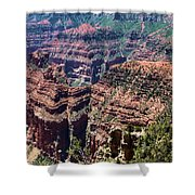 Point Imperial View Shower Curtain