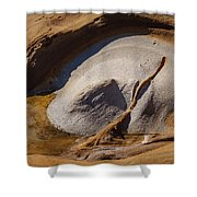 Point Lobos Abstract 3 Shower Curtain
