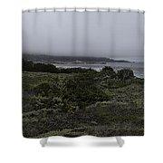 Point Lobos National Park Shower Curtain