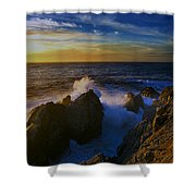 Point Lobos Two Shower Curtain