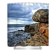 Point Loma   Shower Curtain