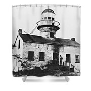 Point Loma Lighthouse Shower Curtain