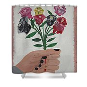 Point Of Beauty Shower Curtain