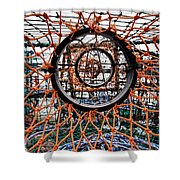 Point Of No Return Shower Curtain