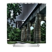 Point Pleasant West Virginia Shower Curtain
