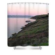 Point Reyes Sunset Shower Curtain