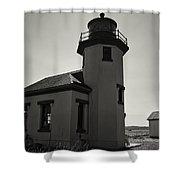 Point Robinson Lighthouse 2 Shower Curtain