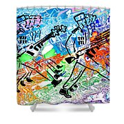 Point Your Toes For The Great Leader 20150223 Shower Curtain