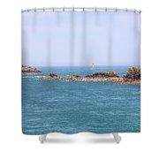 Pointe Du Grouin - Brittany Shower Curtain
