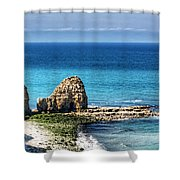 Pointe Du Hoc Shower Curtain