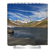 Pointe Rousse Lake Shower Curtain