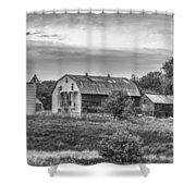Pointy Top Silo   3d21759 Shower Curtain