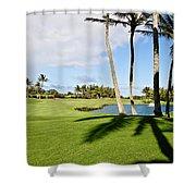 Poipu Bay #18 Shower Curtain