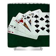 Poker Hands - Two Pair 3 Shower Curtain