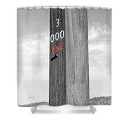 Pole 3 Shower Curtain