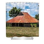 Pole Barn Shower Curtain