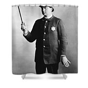 Policeman, 1891 Shower Curtain