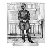 Policeman, C1885 Shower Curtain