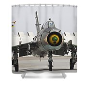 Polish Air Force Su-22 Fitter Shower Curtain