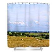 Polish Field Shower Curtain