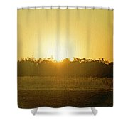 Polk City Sunrise Shower Curtain