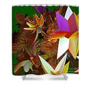 Pollination By Jammer Shower Curtain