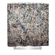 Pollock's Number 1 -- 1950 -- Lavender Mist Shower Curtain