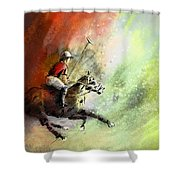 Polo 01 Shower Curtain