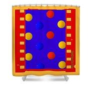 Polychromatic Shower Curtain