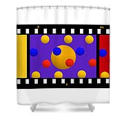 Polychrome Fun Shower Curtain