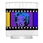 Polychrome Pop Shower Curtain