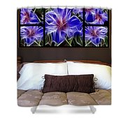 Polyptych Display Sample 01  Shower Curtain